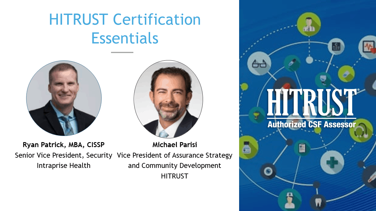 HITRUST Certification Essentials Slide